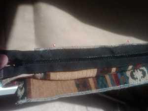 Finally the zipper